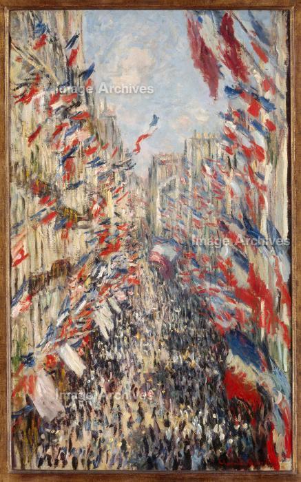 作品詳細 | モントルグイユ街,1878年6月30日の祭日 | Image Archives ...